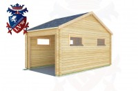 Log Cabins Langney Village 3.0m x 5.0m - 516 3