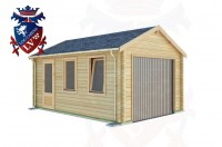 Log Cabins Roselands 3.5m x 5.0m - 518 3