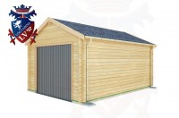 Log Cabins Roselands 3.5m x 5.0m - 518 2