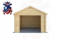 Log Cabins Roselands 3.5m x 5.0m - 518 1