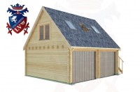 Log Cabins Bexhill-on-Sea 6.0m x 5.0m - 522 2