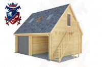 Log Cabins Bexhill-on-Sea 6.0m x 5.0m - 522 3