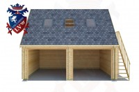 Log Cabins Bexhill-on-Sea 6.0m x 5.0m - 522 1