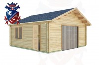 Log Cabins Eastbourne 5.7m x 5.7m - 525 2