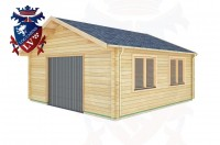 Log Cabins Eastbourne 5.7m x 5.7m - 525 3