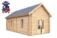 Log Cabin Piddinghoe 4.0m x 8.0m - 662 3