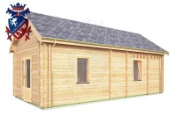Log Cabin Piddinghoe 4.0m x 8.0m - 662 5