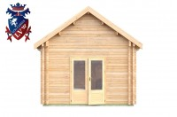Log Cabin Piddinghoe 4.0m x 8.0m - 662 2
