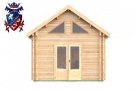 Log Cabin Piddinghoe 4.0m x 8.0m - 662 8