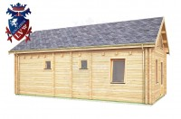 Log Cabin Northiam 4.0m x 8.0m - 663 3