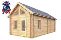 Log Cabin Northiam 4.0m x 8.0m - 663 2