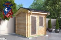 Laminated Log Cabins 2.5 x 2.5 - 763 1
