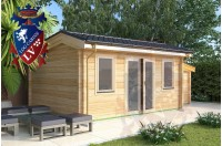 Log Cabins Arpinge 5.0m x 4.0m 791 1