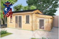 Log Cabins Arpinge 5.0m x 4.0m 791 3
