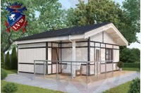 Residential Cabins Balcombe 6.8m x 6.0m 676 3