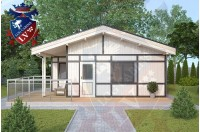 Residential Cabins Balcombe 6.8m x 6.0m 676 4