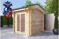 Laminated Log Cabins 2.5 x 2.5 - 762 4