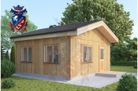 Timber Frame Cabin Bexleyheath 5.5m x 5.5m 4