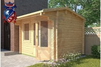 Log Cabins Camber 3m x 2.5m - 114 2