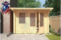 Log Cabins Camber 3m x 2.5m - 114 3