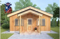 Residential Cabins Chatham 6m x 6m 728 3