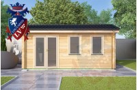 Log Cabins Conyer 5.5m x 4.5m 789 1