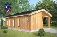 Residential Cabins Cranbrook 5.5m x 9.5m 740 2