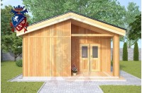 Residential Cabins Cranbrook 5.5m x 9.5m 740 1