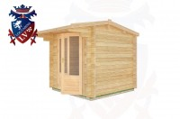 Log Cabins East Guldeford 2.5m x 2.5m - 01 3