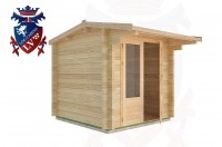 Log Cabins East Guldeford 2.5m x 2.5m - 01 2
