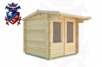 Log Cabins Broad Oak 2.5m x 2.5m - 02  3