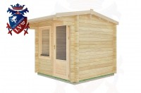 Log Cabins Broad Oak 2.5m x 2.5m - 02  2