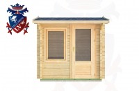 Log Cabins Broad Oak 2.5m x 2.5m - 02  1
