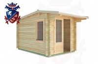 Log Cabins Exceat 2.5m x 3.5m - 03 3