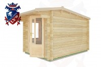 Log Cabins Exceat 2.5m x 3.5m - 03 2