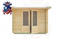 Log Cabins Hollington 3.0m x 3.0m - 04 1
