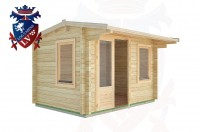 Log Cabins Meads 3.5m x 2.5m - 06 2