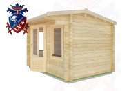 Log Cabins Meads 3.5m x 2.5m - 06 3