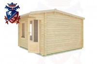 Log Cabins Tarring Neville 3.5m x 3.5m - 09 3