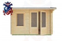 Log Cabins Tarring Neville 3.5m x 3.5m - 09 1