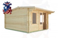 Log Cabins Playden 3.5m x 4.5m - 1 2