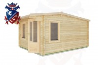 Log Cabins Playden 3.5m x 4.5m - 1 3