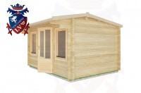 Log Cabins Heathfield 4.0m x 3.0m - 11 2