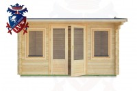 Log Cabins Heathfield 4.0m x 3.0m - 11 1