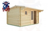 Log Cabins Berwick Station 4.0m x 3.0m - 12 2