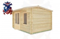 Log Cabins Berwick Station 4.0m x 3.0m - 12 3