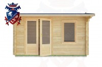 Log Cabins Berwick Station 4.0m x 3.0m - 12 1