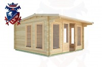 Log Cabins Broadland Row 4.0m x 4.0m - 14 2