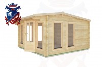 Log Cabins Broadland Row 4.0m x 4.0m - 14 3