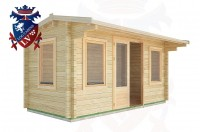 Log Cabins Hangleton 4.5m x 2.0m - 15 2